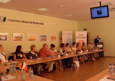 """Utworzenie ośrodków doradztwa dla Międzyrzecza iWschowy. Konferencja podsumowująca. Projekt wramach akcji """"Człowiek"""""""