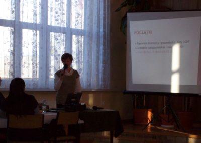 Spotkanie Organizacji Pozarządowych zJST iZLOP wMiędzyrzeczu Spotkanie wMiędzyrzeczu