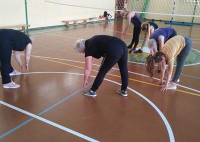 Zajęcia gimnastyczne jako sposób napoprawę samopoczucia psychicznego ifizycznego.