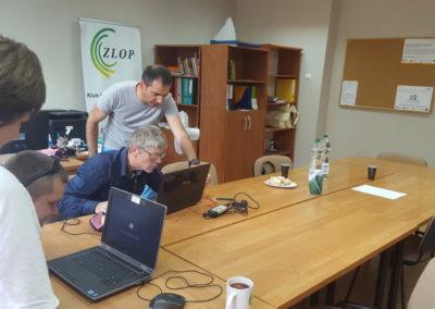 Warsztaty informatyczne w ramach zajęć integracyjnych.
