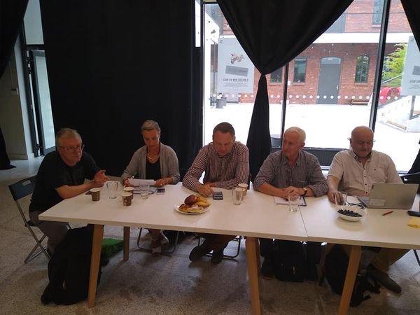 Obrady Zarządu Wspólnoty Roboczej Związków Organizacji Socjalnych wspólne zZarządem Dolnośląskiej Federacji Organizacji Pozarządowych