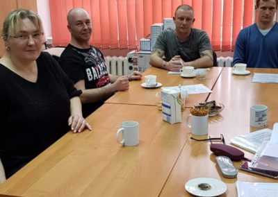 Luty 2020 r. Spotkanie z trenerem personalnym.