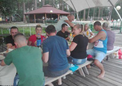 Wyjazd integracyjny uczestników projektu do ośrodka Stilon w Lubniewicach.