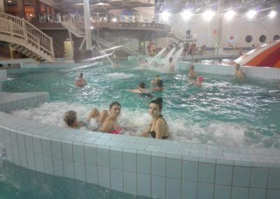 W październiku 2019 r. uczestnicy Punktu Aktywizacji Społeczno- Zawodowej w Jeleniowie  byli na basenie w Centrum Sporyowo- Rekreacyjnym w Zielonej Górze. Celem spotkania była integracja uczestników oraz stworzenie możliwości alternatywnego, aktywnego spędzania czasu wolnego.