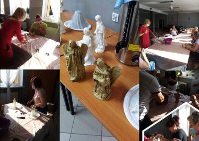 Warsztaty rzeźby w płótnie - Lipiec 2020 r.