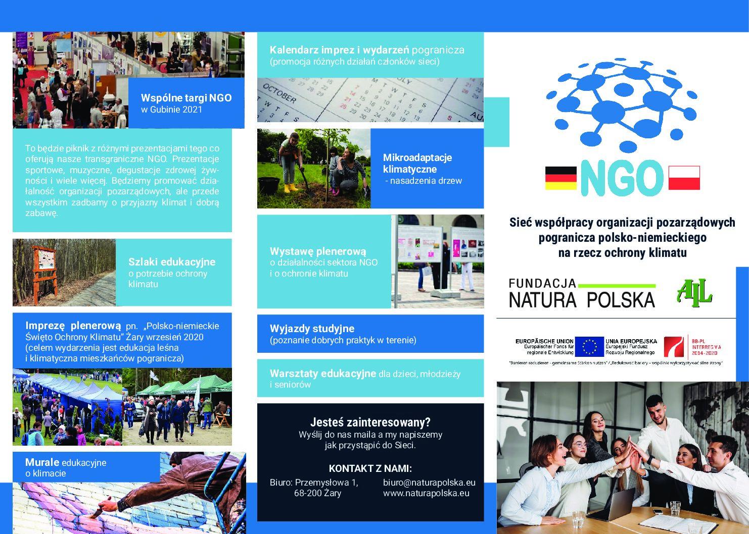 Zaproszenie do udziału w projekcie realizowanym przez Fundację Natura Polska